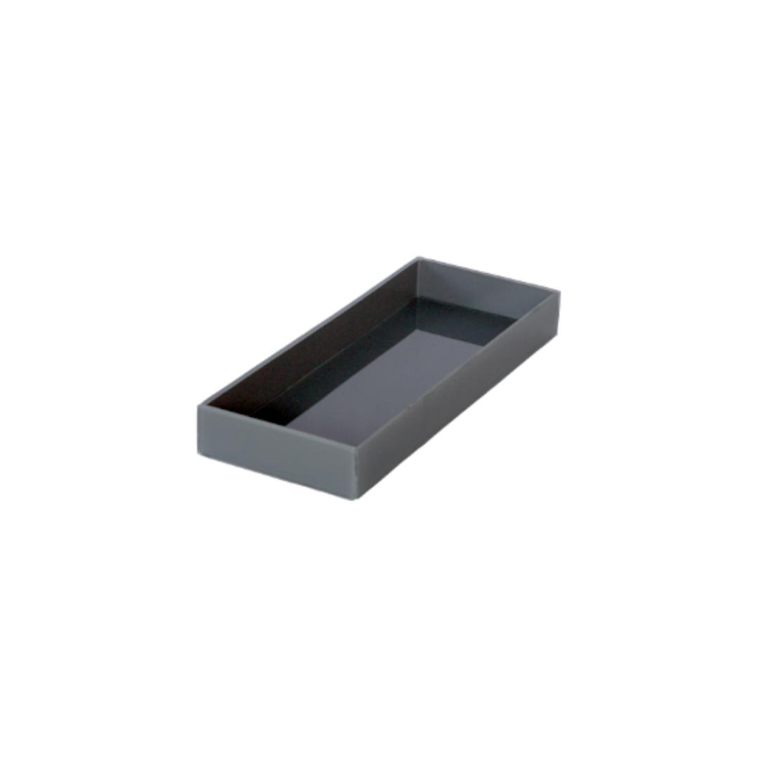 Caixa de Lavabo Pequena Cinza