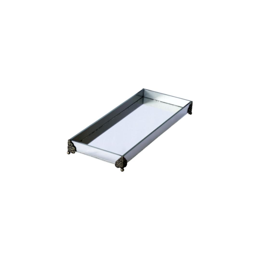 Caixa de Lavabo Peq. C/ Metal Espelho