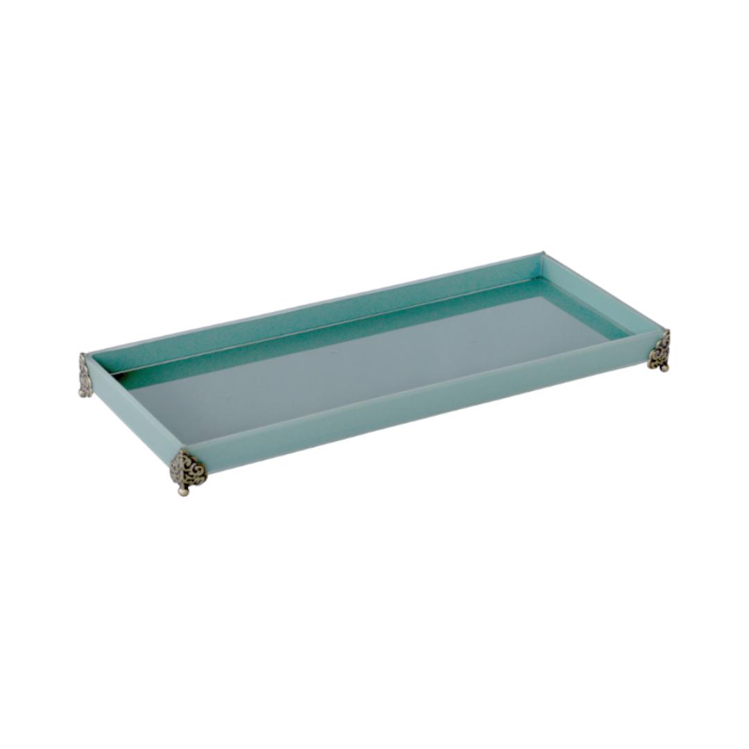 Caixa de Lavabo Grande C/ Metal Tifany