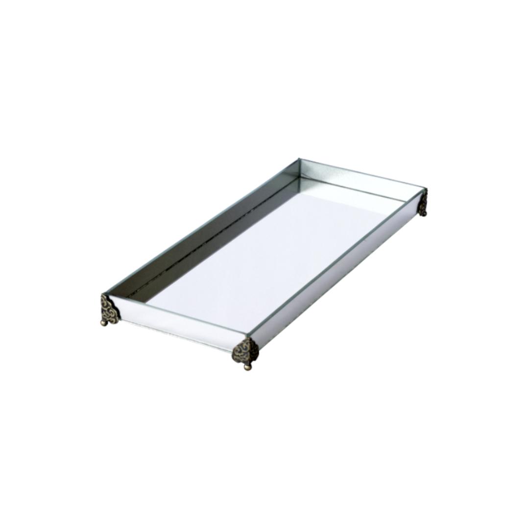 Caixa de Lavabo Grande C/ Metal Espelho