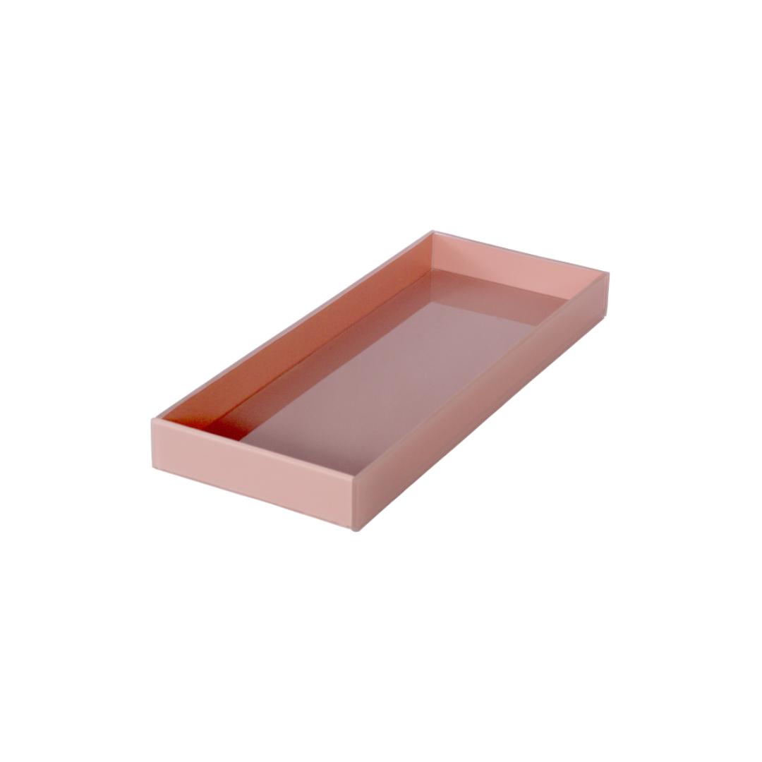 Caixa de Lavabo Grande Rosa