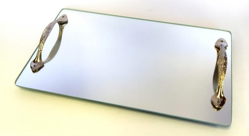 Base com Alça Metálica Espelho G